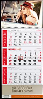 3 maandkalender