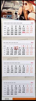 4 maandkalender