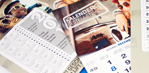 kalenders drukken met logo of tekst relatiegeschenk