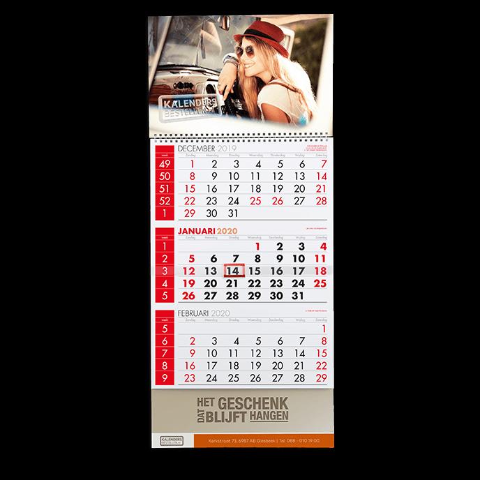 3-maandkalender kalendersbestellen