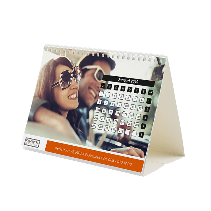 Bureaukalender Kalendersbestellen