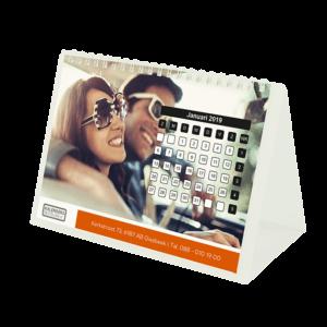 Bureaukalender Kunststof Staander 13-bladig