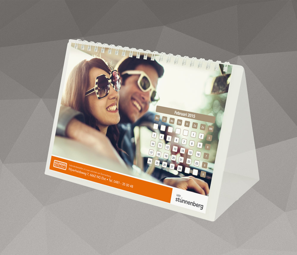 Bureaukalender kalendersbestellen.nl