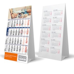 Bureaukalender Mini 4-maands