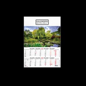 Fotokalender 6-bladig Monet's Garden
