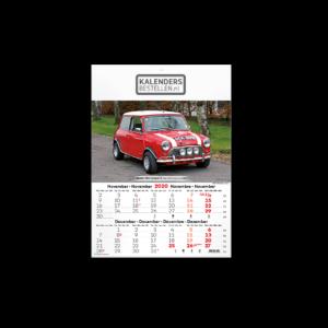 Fotokalender 6-Bladig  Vintage Cars