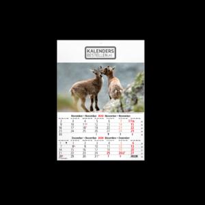 Fotokalender 6-Bladig Wildlife