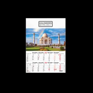 Fotokalender 6-Bladig World Heritage