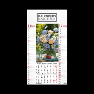 Fotokalender Budget 6-Bladig Floral Art