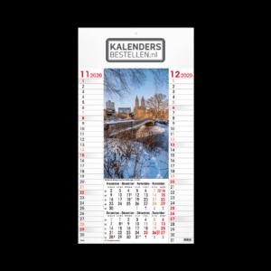 Fotokalender Budget 6-Bladig Travel