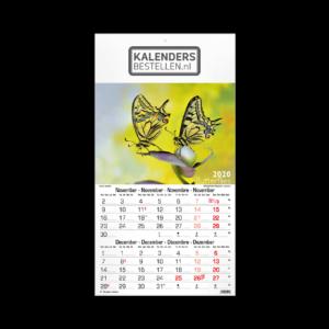 Fotokalender Budget 6-Bladig Vlinders