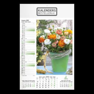 Fotokalender Groot Floral Art
