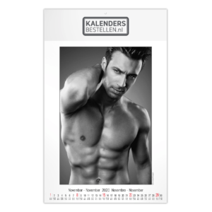 Fotokalender Groot Pin-up Men