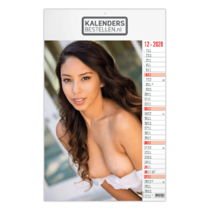 Fotokalender Groot Pin-up Top Exclusive